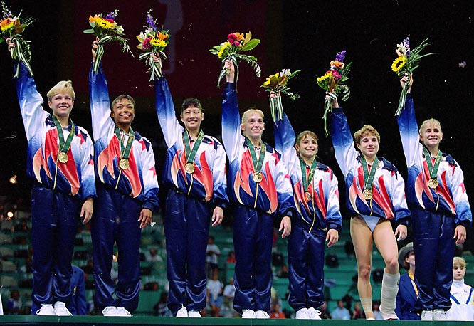 1984 Olympics Gymnastics Women's Team http://home.messiah.edu/~cf1233/terms.html
