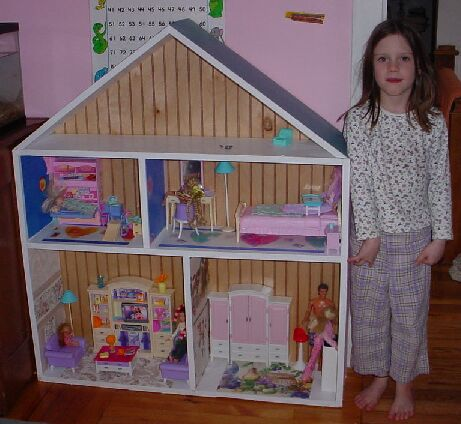 Doll House Plans - Plans for Basic to Grand Doll Houses